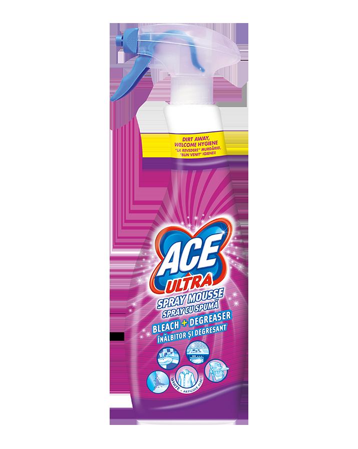 ACE Ultra Spray Mousse