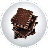 Togliere le macchie di cioccolato