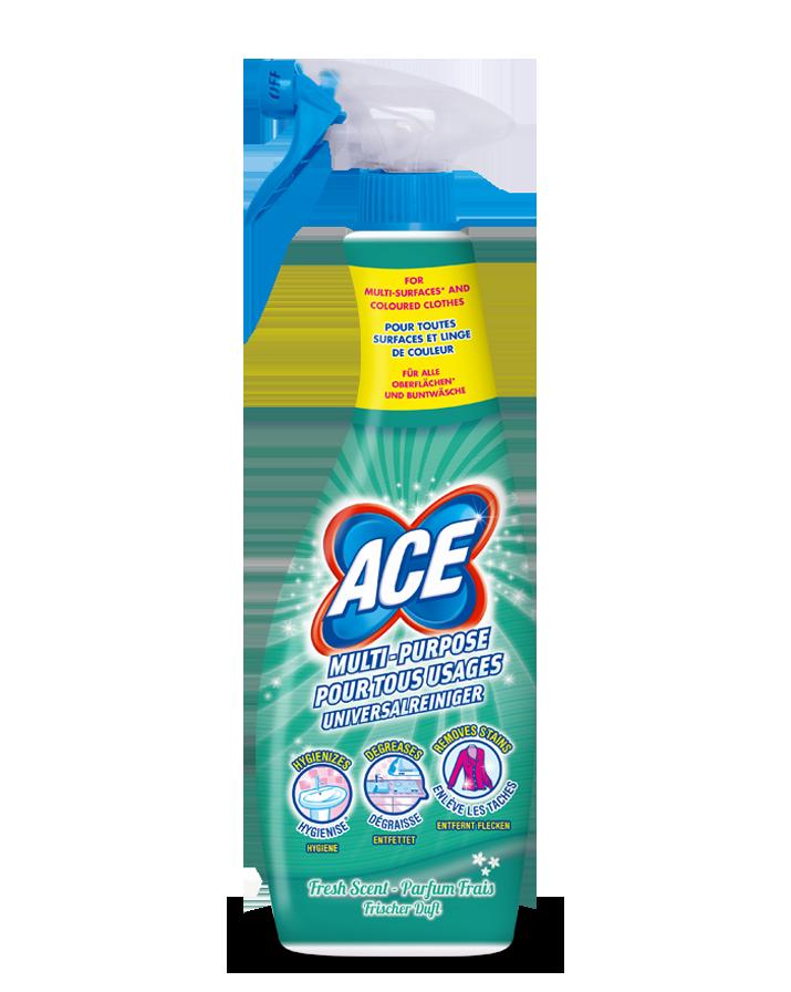 Ace spray pour tous usages - Produit pour nettoyer les facades de maison ...
