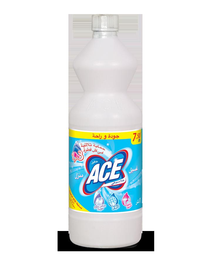 Ace Classique a la meilleure formule jamais conçue et offre la meilleure protection de la maison et du linge
