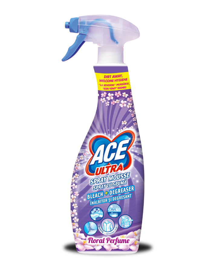 ACE Ultra Spray Mousse Floral Perfume