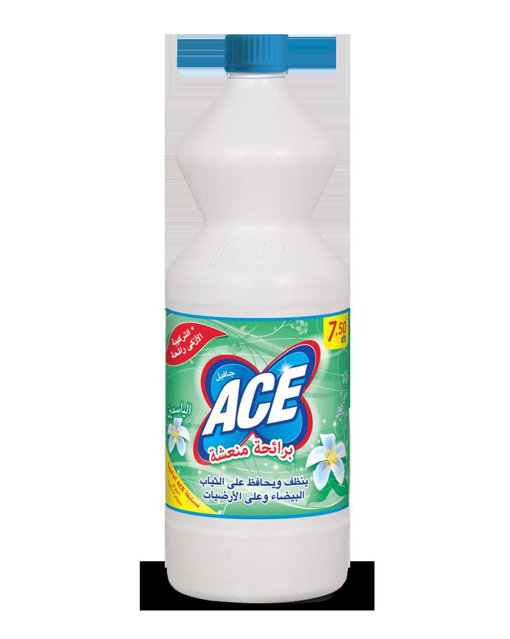 Ace Sensorial est l'eau de Javel innovante avec un parfum plus léger et plus frais. Effet délicat et respectueux sur le tissu, les surfaces et la peau des mains.