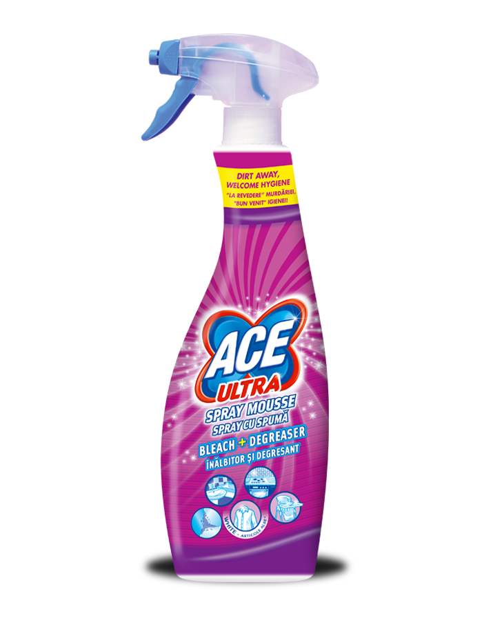 ACE Ultra Spray Mousse