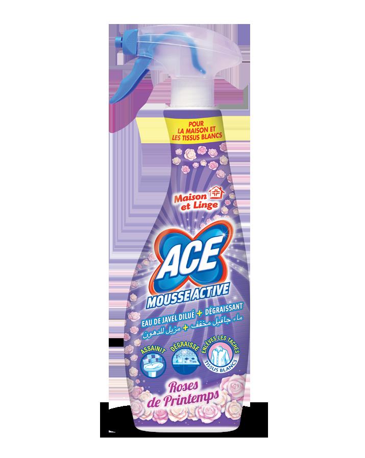 ACE Spray Mousse Active Roses de Printemps