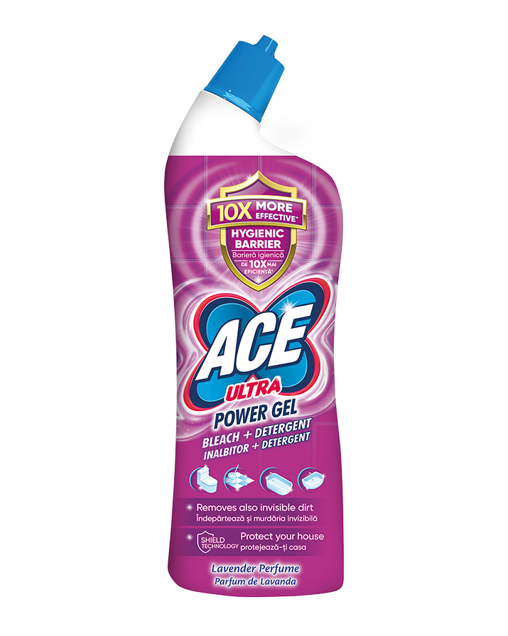 ACE Ultra Power Gel Lavender