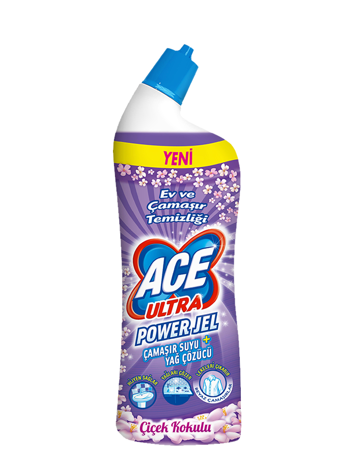 ACE Ultra Power Jel Çiçek Kokulu