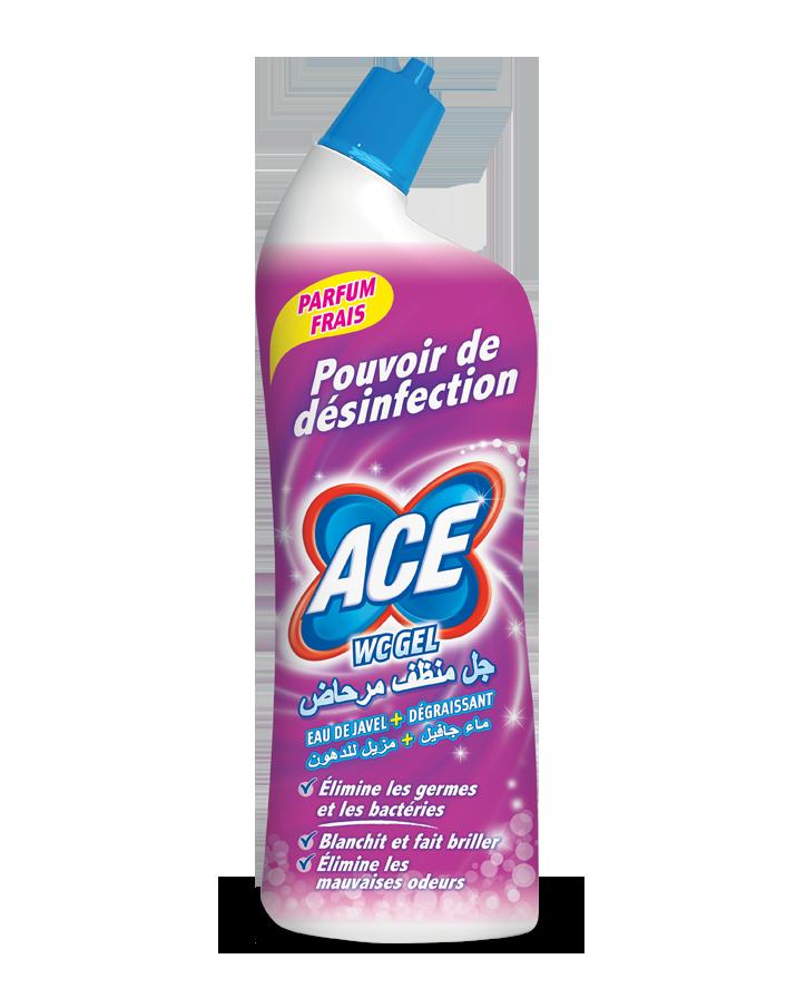 Pour le nettoyage et l'hygiène de votre toilette, le gel avec le pouvoir de désinfection et l'eau de Javel parfumée.