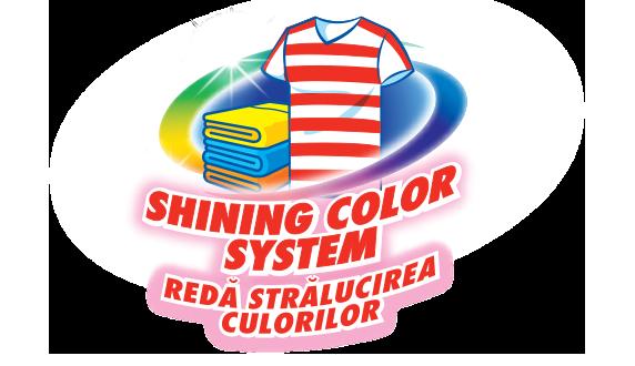 sistem pentru culori stralucitoare