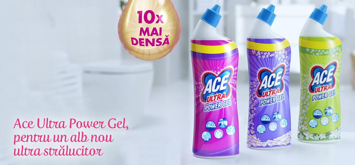 Albul extraordinar de la ACE acum și cu ULTRA gel!