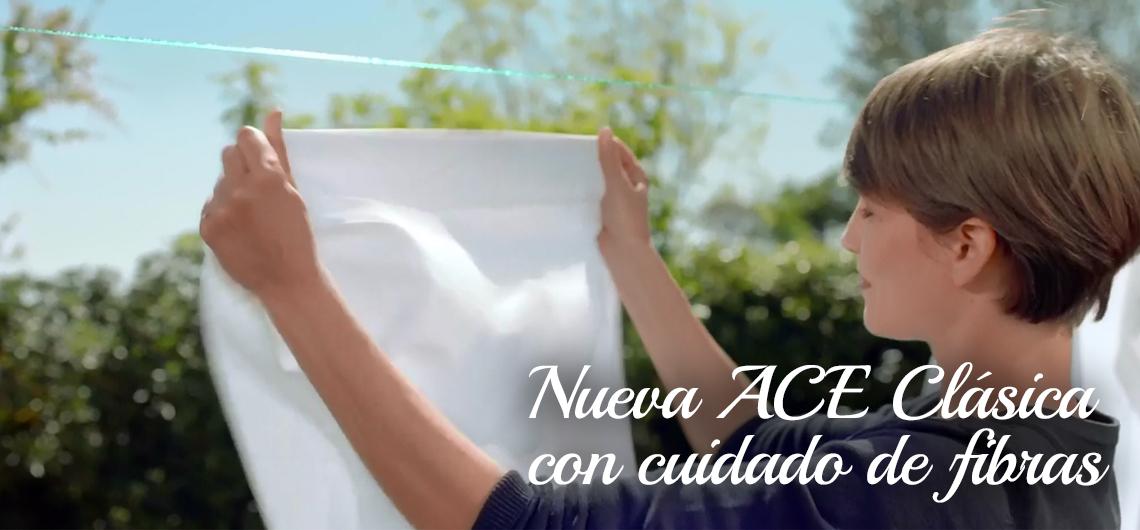 Nueva ACE Clásica con cuidado de fibras