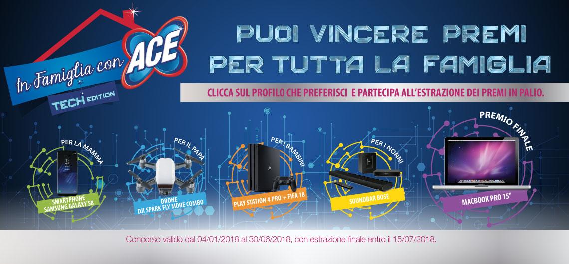 Partecipa al concorso In Famiglia con ACE - Tech Edition